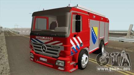 Mercedes Benz Actros Vatrogasci para GTA San Andreas