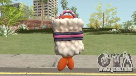Sushi Backpack (Parachute) para GTA San Andreas