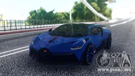 Bugatti Divo Blue para GTA San Andreas