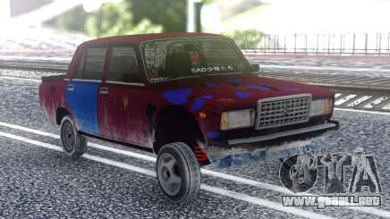 VAZ 2107 Color para GTA San Andreas