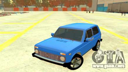 VAZ 2121 Azul 4x4 para GTA 4