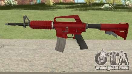 CS:GO M4A1 (Red Skin) para GTA San Andreas