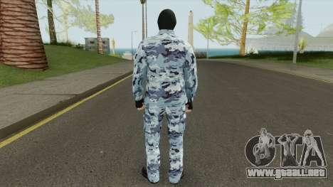 GTA Online Mercenary para GTA San Andreas