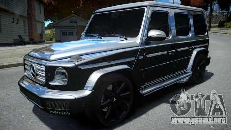 Mercedes-Benz G-Class 2019 para GTA 4