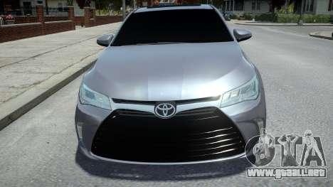 Toyota Camry 2015 para GTA 4