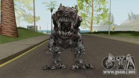 Transformers Grimlock AOE V2 para GTA San Andreas