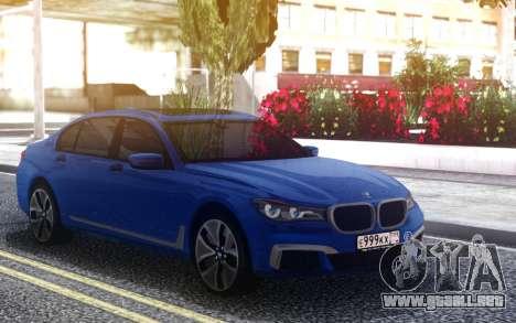 BMW 760Li para GTA San Andreas