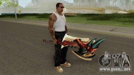 Monster Hunter Weapon V4 para GTA San Andreas