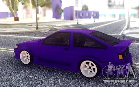 Toyota AE86 para GTA San Andreas