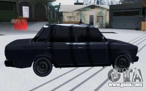 2107 Invierno para GTA San Andreas