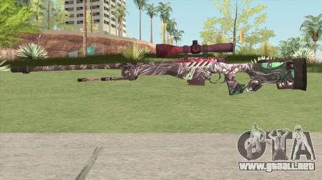 Sniper Rifle (Xorke) para GTA San Andreas