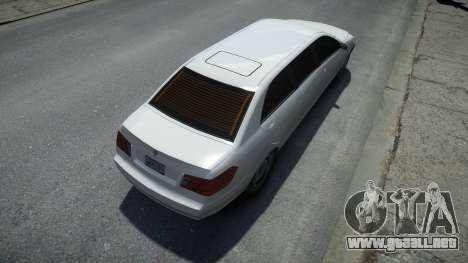 Benefactor Stretch E para GTA 4