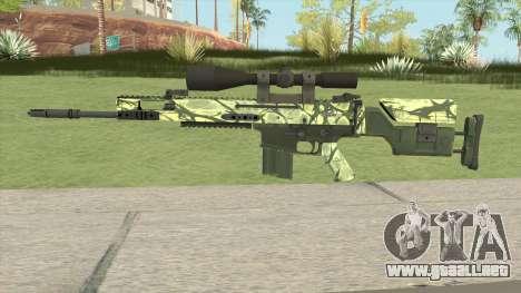 CS-GO SCAR-20 (Jungler Skin) para GTA San Andreas