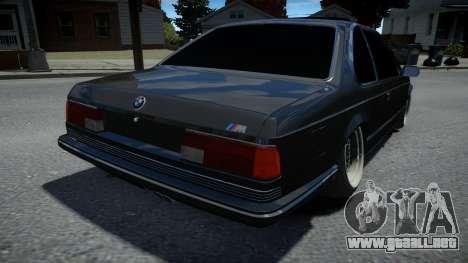 BMW M6 E24 1986 para GTA 4