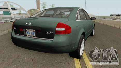 Audi A6 C5 Prefacelift 2.7 Biturbo 00 (US-Spec) para GTA San Andreas