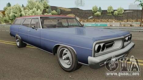 Dundrealy Regina GTA IV TLAD IVF para GTA San Andreas