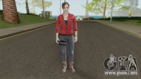 Claire Redfield From RE 2 Remake para GTA San Andreas