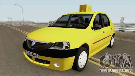 Dacia Logan Taxiul Lui Rata 2004 para GTA San Andreas