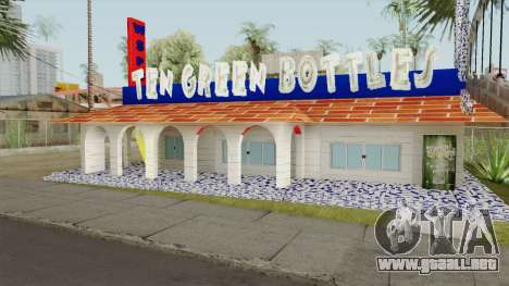 Ten Green Bottles (New Textures) para GTA San Andreas