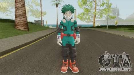 Izuku Midoriya (My Hero One Justice) para GTA San Andreas