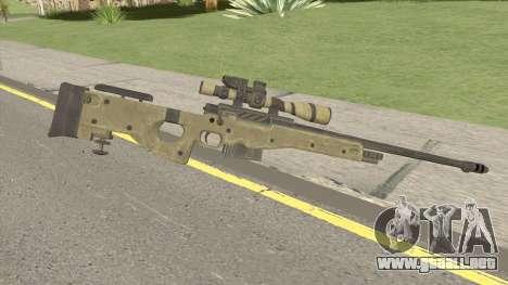 COD: Ghosts L115 Sniper para GTA San Andreas