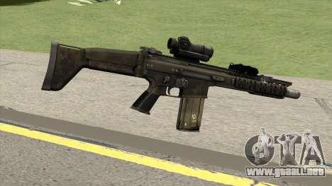 Contract Wars SCAR-H para GTA San Andreas