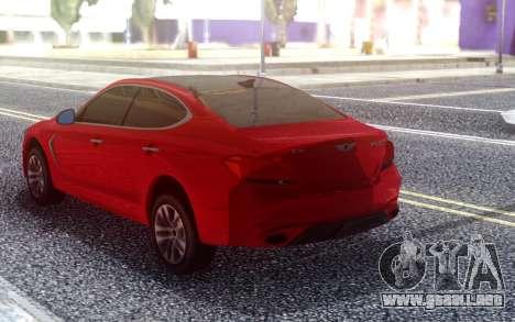Genesis G70 2018 para GTA San Andreas