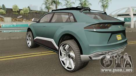 Pegassi Toros GTA V para GTA San Andreas