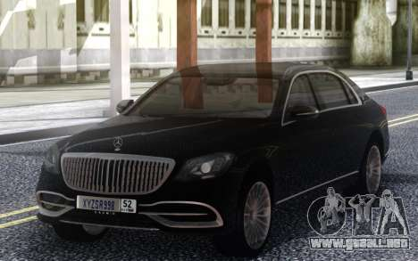 Mercedes-Benz Maybach para GTA San Andreas