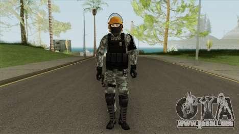 Skin Da Controle de Disturbios para GTA San Andreas