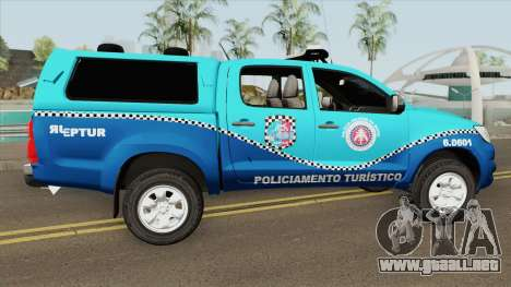 Toyota Hilux 2014 (BEPTUR PMBA) para GTA San Andreas