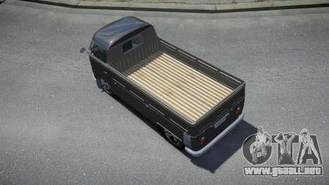 Volkswagen Kombi Pick-Up T2 Bus para GTA 4