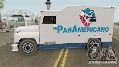 Camion Panamericano (Securicar) SA Style para GTA San Andreas