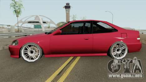Honda Civic SA Style (Fix) para GTA San Andreas