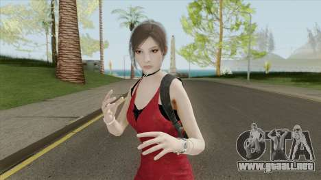 Ada Wong From RE2 Remake para GTA San Andreas