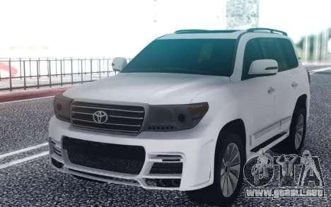 Toyota Land Cruiser 200 Zeus para GTA San Andreas