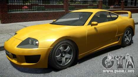 Dinka Jester Classic Revised Rims v1 para GTA 4