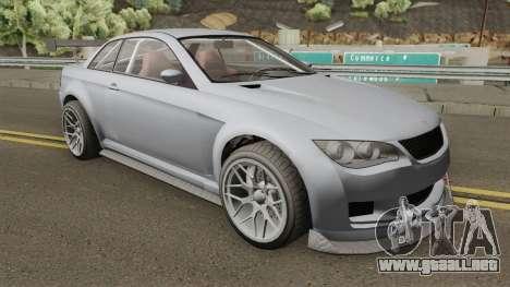 Ubermacht Sentinel XS Custom GTR GTA V para GTA San Andreas