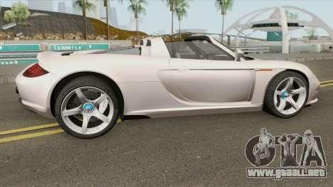 Porsche Carrera GT 2003 para GTA San Andreas
