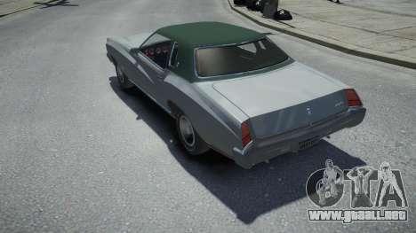 Chevrolet Monte Carlo 1973 para GTA 4