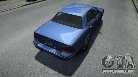 Vapid Stanier Stock para GTA 4