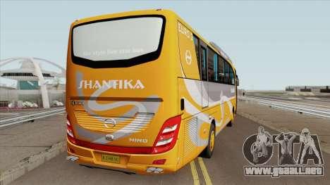 HINO RN285 AdiPutro Travego Shantika 2010 para GTA San Andreas