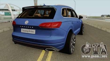 Volkswagen Touareg 2019 para GTA San Andreas