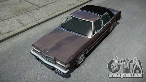 Mercury Grand Marquis LS para GTA 4