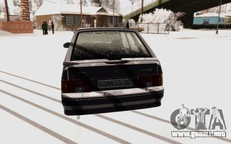 VAZ 2114 Invierno para GTA San Andreas