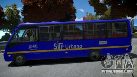 Mercedes-Benz Neobus BUS SITP COLOMBIA para GTA 4
