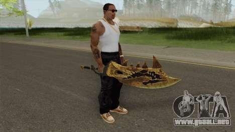 Monster Hunter Weapon V3 para GTA San Andreas