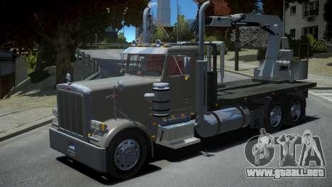 Peterbilt 379 Daycab para GTA 4