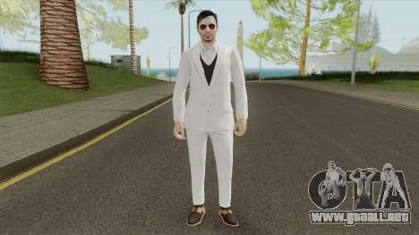 Male Random Skin 2 From GTA V Online para GTA San Andreas