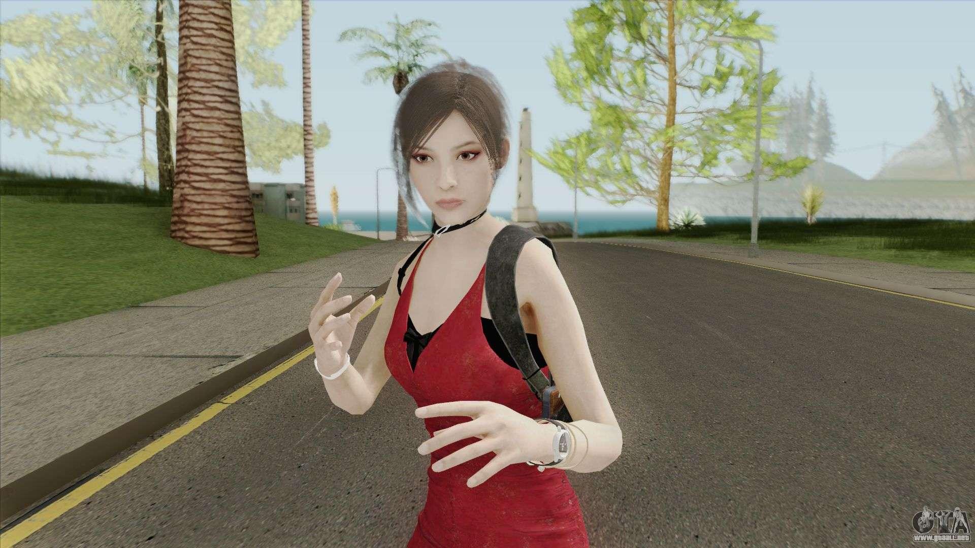 Ada Wong School (RE2 Remake) para GTA San Andreas